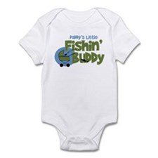 Daddy's Little Fishin' Buddy Infant Bodysuit