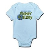 Grandpa's Little Fishin' Buddy Infant Bodysuit