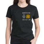 Band is Great Pocket Image Women's Dark T-Shirt
