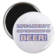 Life, Liberty, Beer Magnet