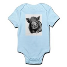 Lucy the wonder pig Body Suit