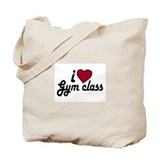 I Love Gym class (Back to School) Tote Bag