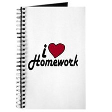 I Love Homework (Back to School) Journal