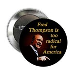 Ten Radical Fred Thompson Buttons