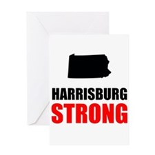 Harrisburg Strong Greeting Cards