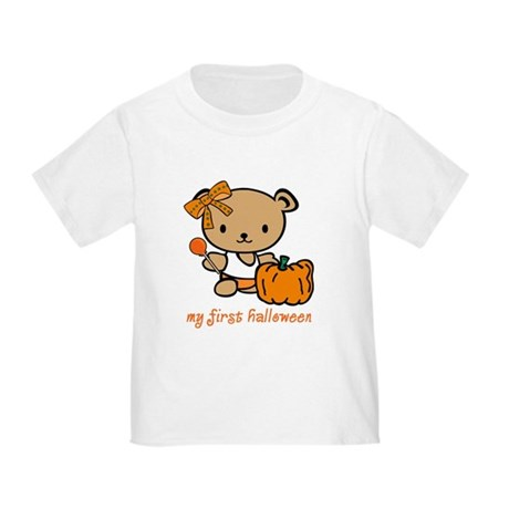 My First Halloween (Girl) Toddler T-Shirt
