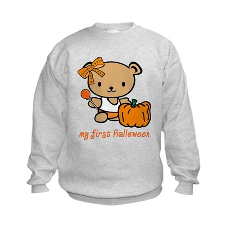 My First Halloween (Girl) Kids Sweatshirt