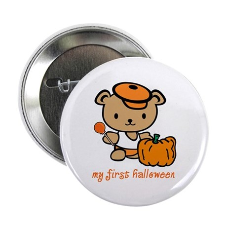 "My First Halloween (Boy) 2.25"" Button (10 pack)"