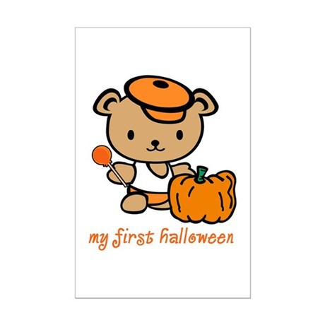My First Halloween (Boy) Mini Poster Print