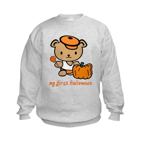 My First Halloween (Boy) Kids Sweatshirt
