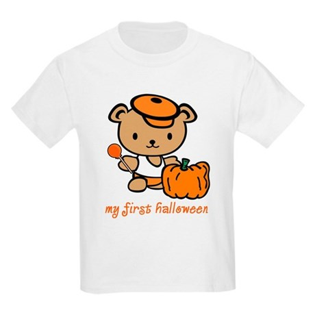 My First Halloween (Boy) Kids Light T-Shirt
