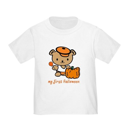 My First Halloween (Boy) Toddler T-Shirt