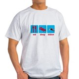 Eat Sleep Slalom Waterski T-Shirt