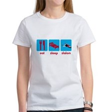 Eat Sleep Slalom Waterski Tee