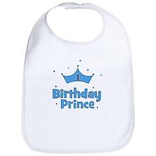 1st Birthday Prince! Bib