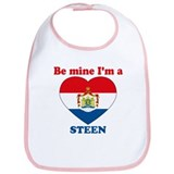 Steen, Valentine's Day Bib