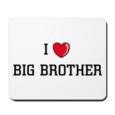 I Love BB Mousepad