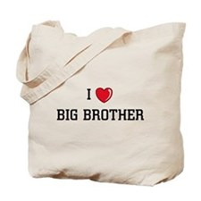 I Love BB Tote Bag