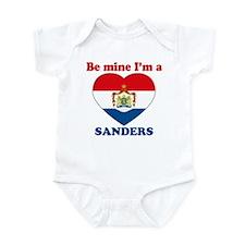 Sanders, Valentine's Day Infant Bodysuit