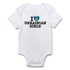 I Love Ukrainian Girls Infant Bodysuit