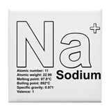 Sodium Tile Coaster