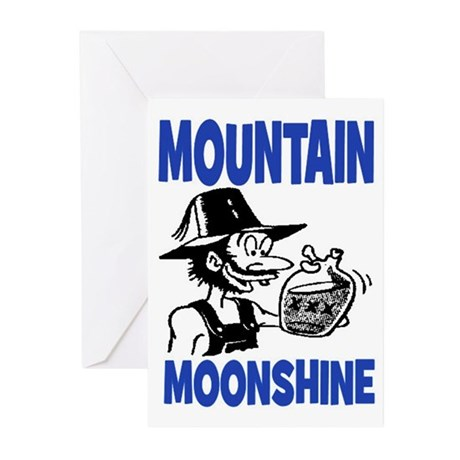 MOUNTAIN MOONSHINE Greeting Cards (Pk of 10)
