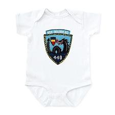 USS NICHOLAS Infant Bodysuit