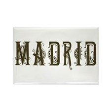 Madrid 2 Rectangle Magnet