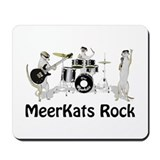 Meerkats Rock Mousepad
