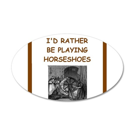 horseshoes Wall Decal
