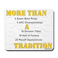 Iron city football Mousepad