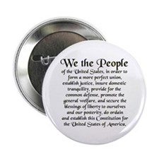"We the People US 2.25"" Button (100 pack)"