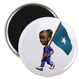 "Somalia Girl 2.25"" Magnet (10 pack)"