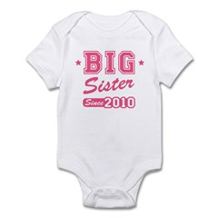 Big Sister Team 2010 Infant Bodysuit