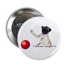 "Pug2.25"" Button (100 pack)"