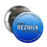 "Laura for Secretary 2.25"" Button (10 pack)"