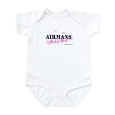 Airman's Baby Girl, USAF Infant Bodysuit