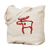 Cave Moose Tote Bag