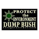 Pro-Environment, Anti-Bush sticker