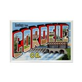 Cordele Georgia Greetings Rectangle Magnet (10 pac