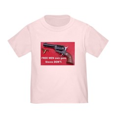 FREE MEN own guns Toddler T-Shirt