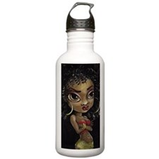 Unique Afro american Water Bottle