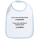 Thank a Soldier... Bib