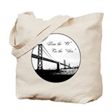 From The 'O' To The 'Sco&quot; Tote Bag