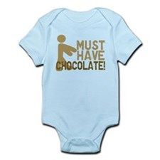Must Have CHOCOLATE! Zombie Infant Bodysuit