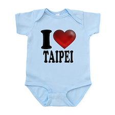 I Heart Taipei Body Suit