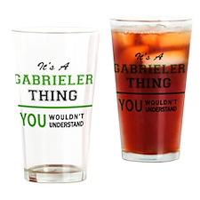 Funny Gabriel Drinking Glass