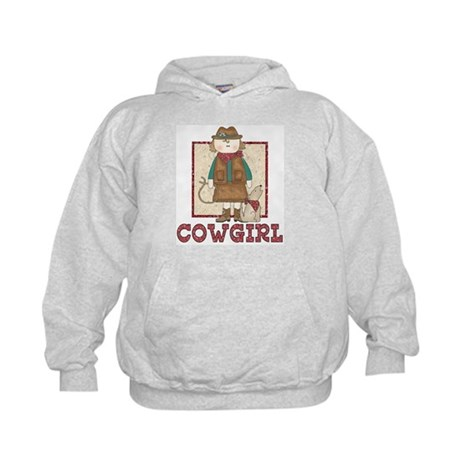Cowgirl and Coyote Kids Hoodie