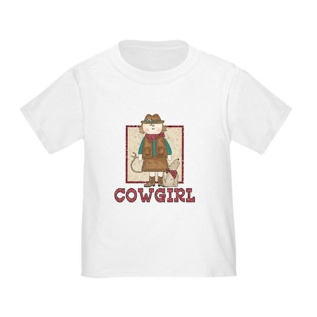 Cowgirl and Coyote Toddler T-Shirt