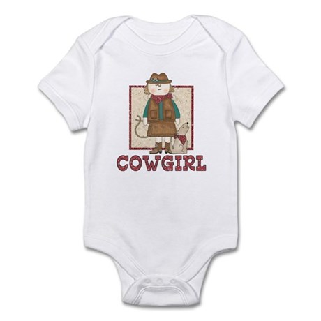 Cowgirl and Coyote Infant Bodysuit